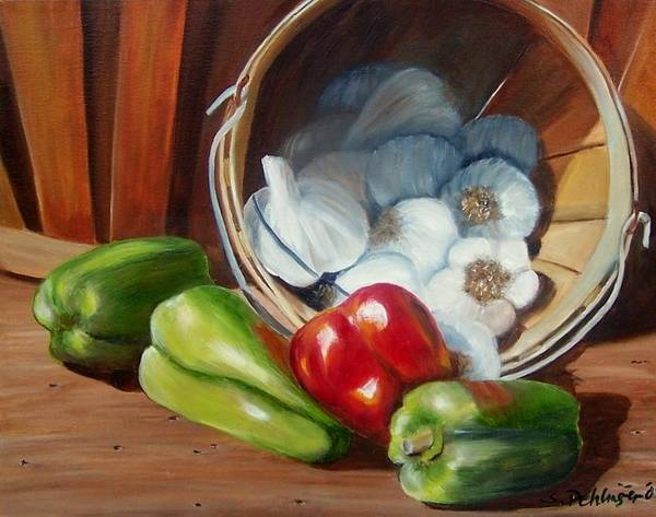 Painting - Farmers Market by Susan Dehlinger