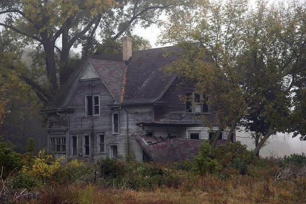Photograph - Farmhouse by CA  Johnson