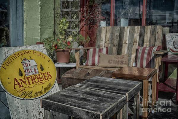 Astoria Photograph - Farmhouse Funk by Paul Quinn