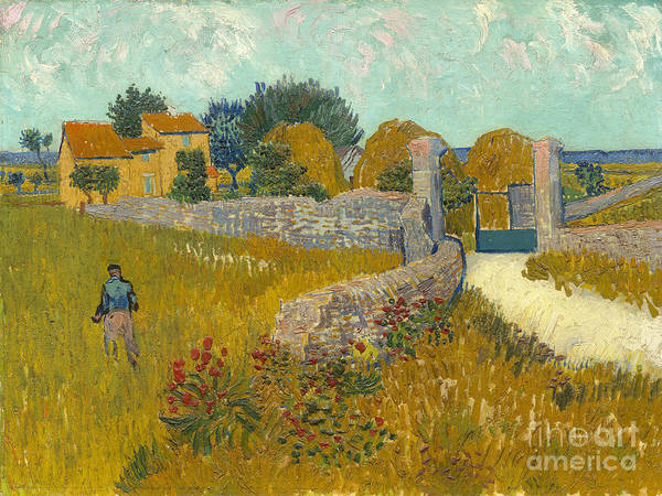 Painting - Farmhouse In Provence by Celestial Images