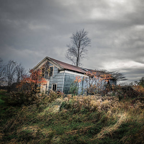 Photograph - Farmhouse Memories - Homestead by Chris Bordeleau