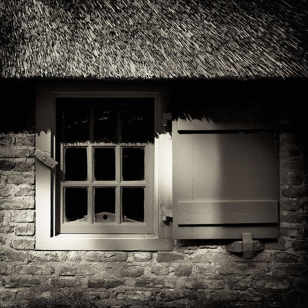 Farmhouse Photograph - Farmhouse Window by Dave Bowman