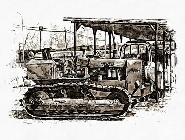 Photograph - Farming At Traction by Dorothy Berry-Lound