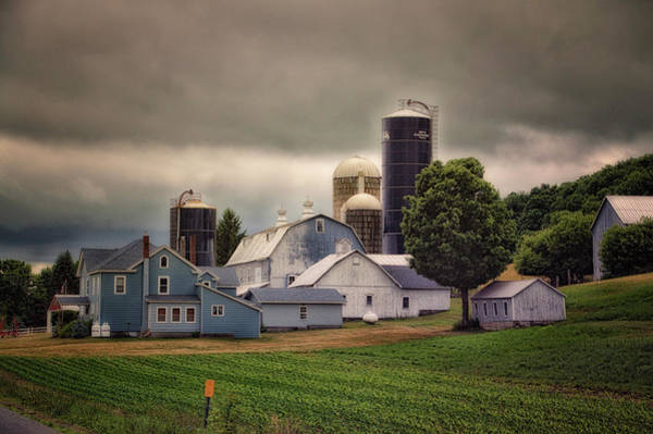 Wall Art - Photograph - Farming Before The Storm Finger Lakes New York 04 by Thomas Woolworth