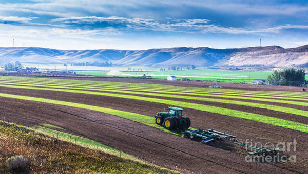 Photograph - Farming In Paradise Idaho Landscapes By Kaylyn Franks by Omaste Witkowski