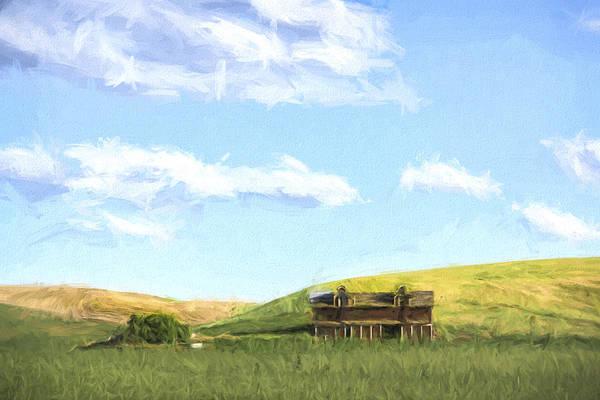 Digital Art - Farming In Washington II by Jon Glaser