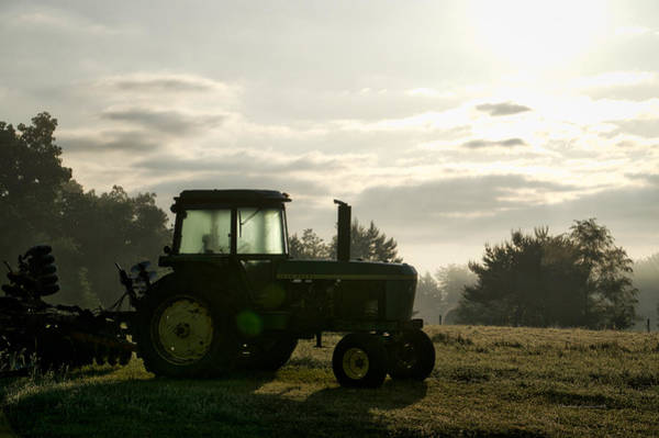 Wall Art - Photograph - Farming John Deere 4430 by Thomas Woolworth