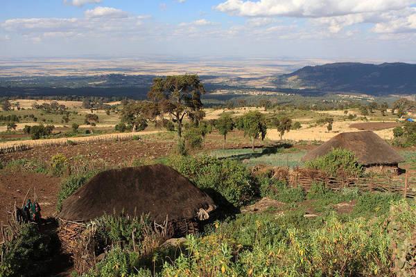 Photograph - Farming Village, Ethiopia by Aidan Moran