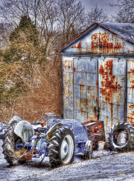 Photograph - Farmjunk by Sam Davis Johnson
