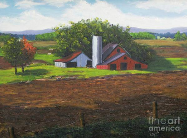 Lagos Painting - Farmland by Diosdado Lagos