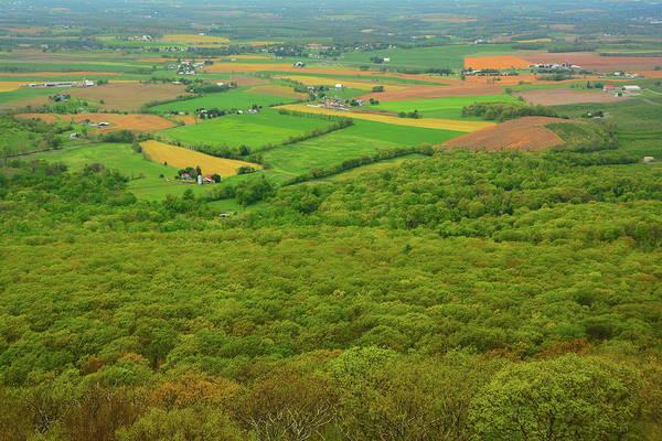Photograph - Farmland From High Rock by Raymond Salani III