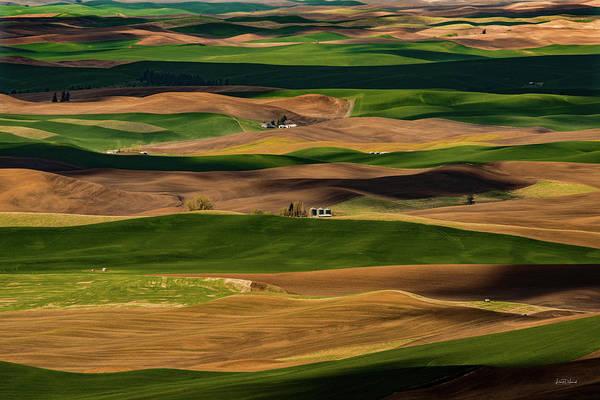 Wall Art - Photograph - Farmland Textures Palouse by Leland D Howard