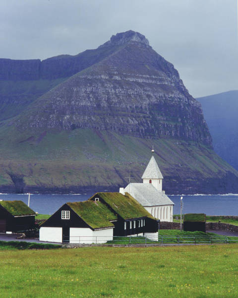 Wall Art - Photograph - Faroese Church by Wedigo Ferchland