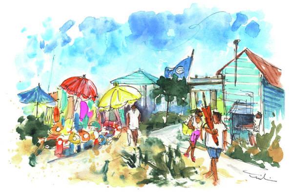 Painting - Farol Island 01 by Miki De Goodaboom