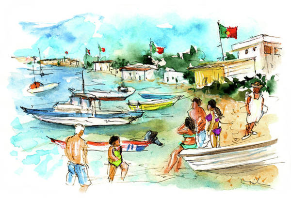 Painting - Farol Island 02 by Miki De Goodaboom