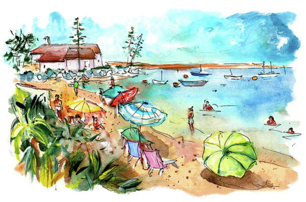 Wall Art - Painting - Farol Island 08 by Miki De Goodaboom