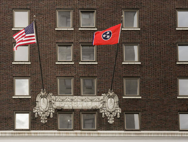 Photograph - Farragut Flags by Sharon Popek