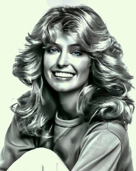 Photograph - Farrah Fawcett by Movie Poster Prints