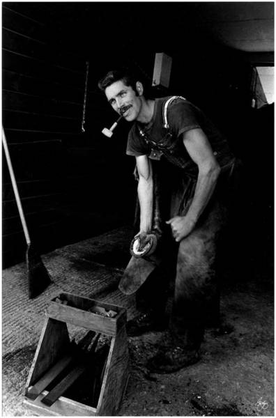 Photograph - The Farrier by Wayne King
