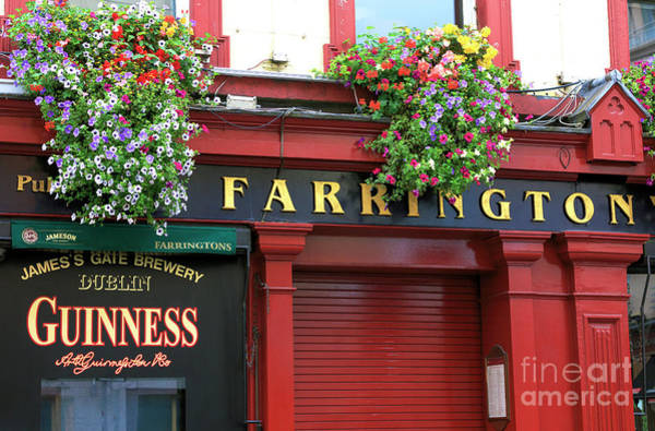 Wall Art - Photograph - Farringtons Dublin by John Rizzuto
