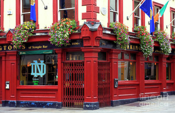 Wall Art - Photograph - Farringtons Of Temple Bar Dublin by John Rizzuto