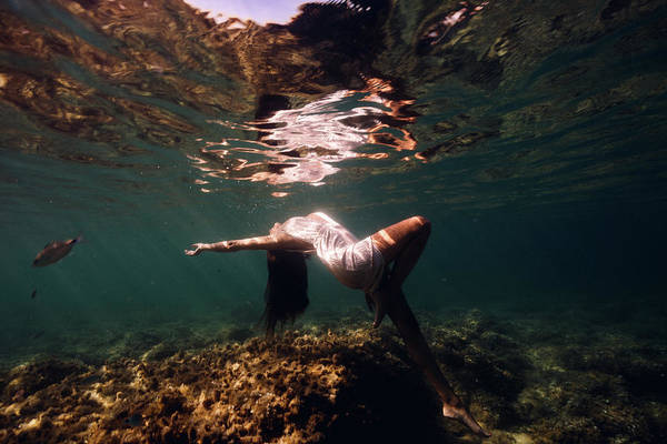 Photograph - Fashion Mermaid II by Gemma Silvestre