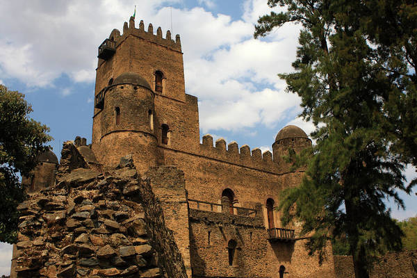 Photograph - Fasilides Castle, Gondor, Ethiopia by Aidan Moran