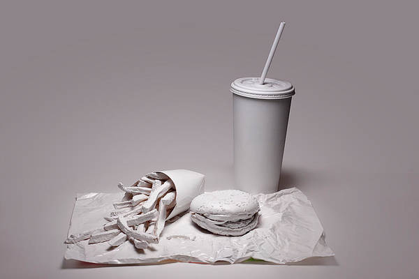Soda Straws Photograph - Fast Food Drive Through by Tom Mc Nemar
