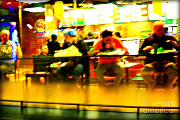 Photograph - Fast Food by Frank J Casella