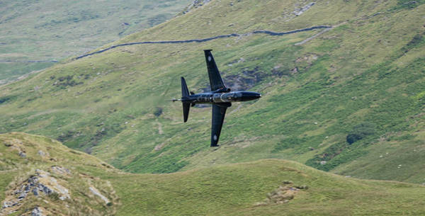 West Wales Photograph - Fast Jet by Nigel Jones