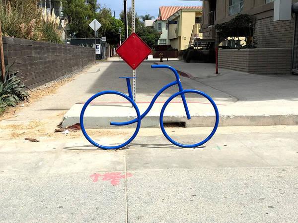 Wall Art - Photograph - Fast Ride Bicycle Art by Nancy Merkle