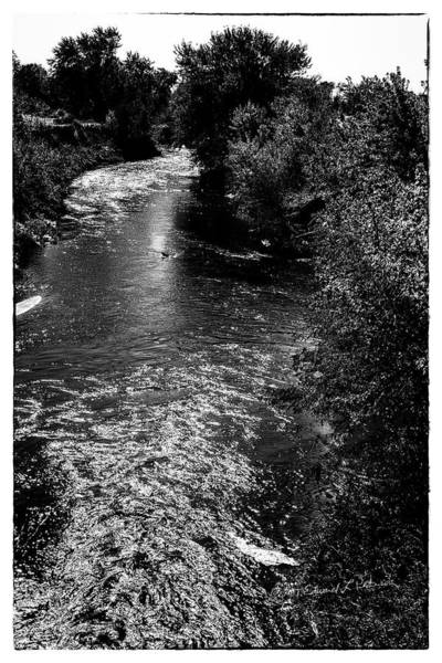 Photograph - Fast Running River by Edward Peterson