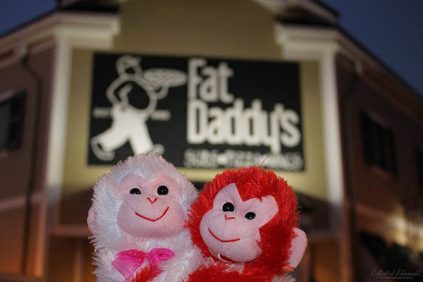 Photograph - Fat Daddys Is For Bears by Robert Banach