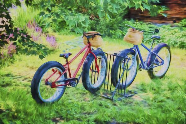 Photograph - Fat Tire Bikes by Tom Singleton