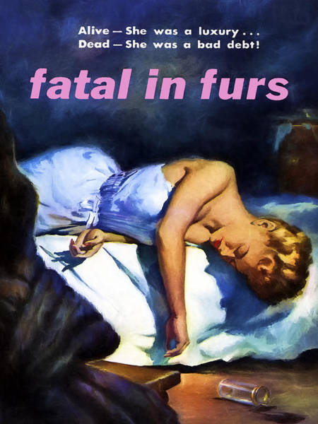 Dope Painting - Fatal In Furs by Dominic Piperata