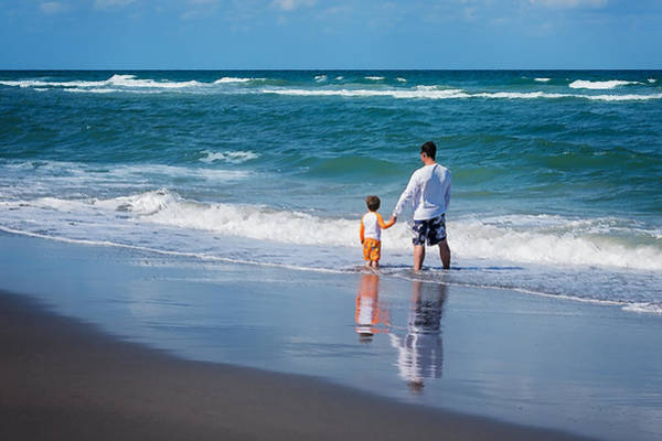 Photograph - Father And Son by Jody Lane