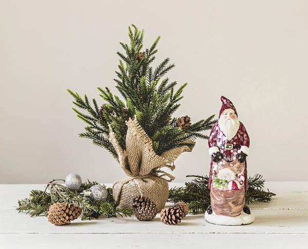 Photograph - Father Christmas by Kim Hojnacki