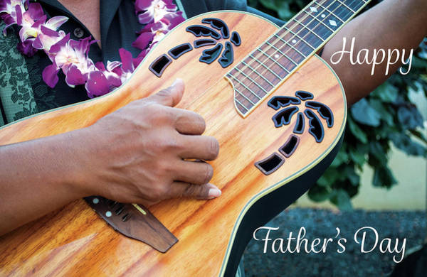 Photograph - Father's Day Guitar by Denise Bird