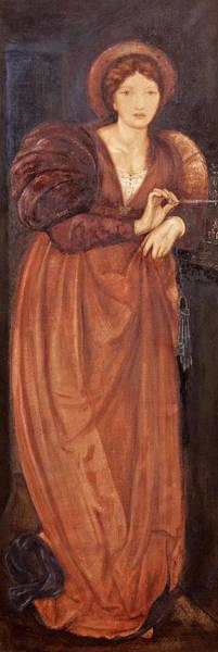 Wall Art - Painting - Fatima by Sir Edward Coley Burne-Jones