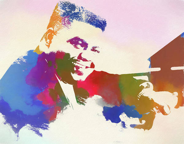 Wall Art - Painting - Fats Domino by Dan Sproul