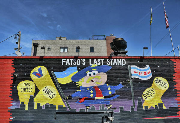Service Dog Photograph - Fatso's Last Stand # 2 - Chicago by Allen Beatty