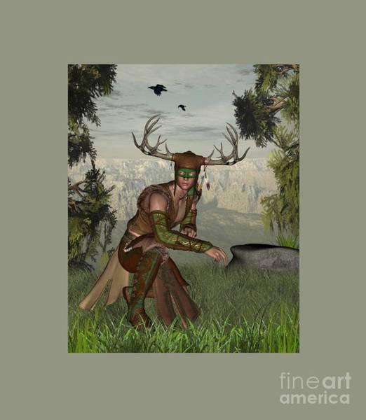 Satanism Digital Art - Fauna by Frederick Holiday