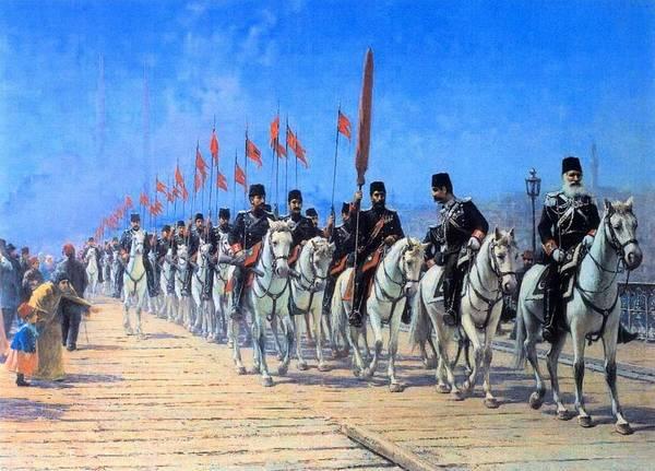 Fausto Zonaro Painting - Fausto Zonaro Ottoman by Eastern Accents