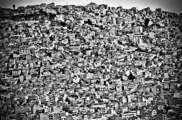 Wall Art - Photograph - Favela Village In El Alto, La Paz, Bolivia by Joel Alvarez
