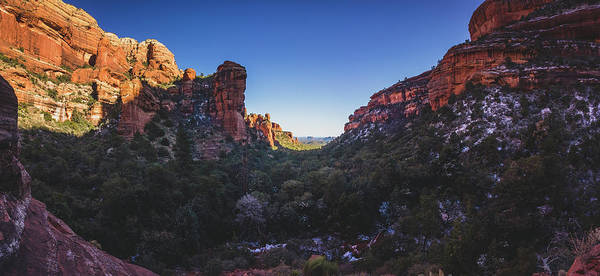 Photograph - Fay Canyon Panorama by Andy Konieczny