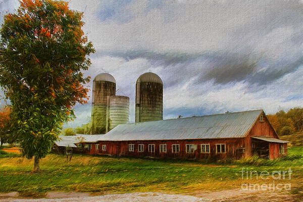 Painting - Fay Farm by Deborah Benoit