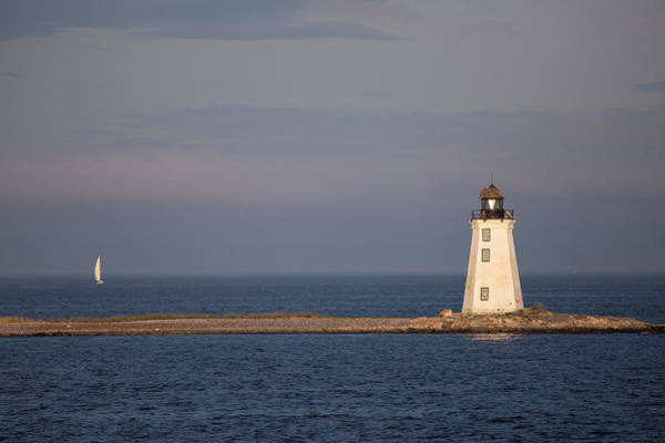 Wall Art - Photograph - Fayerweather Lighthouse by Stephanie McDowell