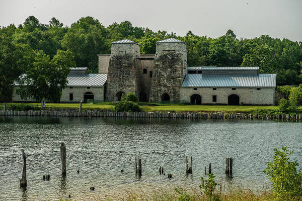 One Of A Kind Photograph - Fayette Kiln by Paul Freidlund