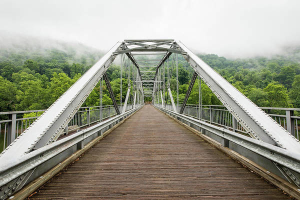 Photograph - Fayette Station Bridge On A Cloudy Day by M C Hood