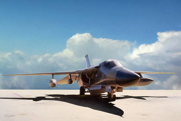General Dynamics Digital Art - Fb-111a by Peter Chilelli